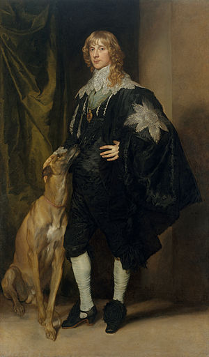 James Stewart, 1st Duke of Richmond - James Stewart Duke of Lennox and Richmond, 1637, by Sir Anthony van Dyck
