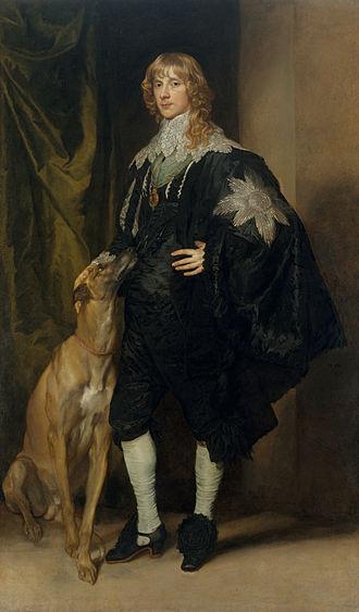 James Stewart, 1st Duke of Richmond - James Stewart Duke of Lennox and Richmond, 1637, by Sir Anthony van Dyck