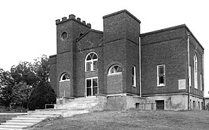 National Register of Historic Places listings in Okfuskee County, Oklahoma - Image: Antioch Baptist Church, Boley OK