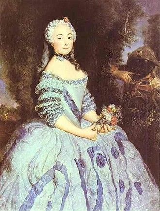 Jean-Baptiste de Boyer, Marquis d'Argens - Babette Cochois (1725-1780), whom Jean-Baptiste married in 1749