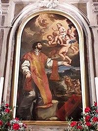 Antonio Arrigoni, San Valentino sacerdote 1707.jpg