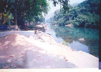 Anasuya - View of Mandakini River at Anusuya Ashrama