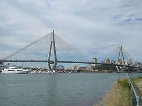 Image illustrative de l'article ANZAC Bridge