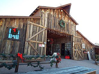 Apache Junction, Arizona - Image: Apache Junction Superstition Mountain Museum Audie Murphy Barn