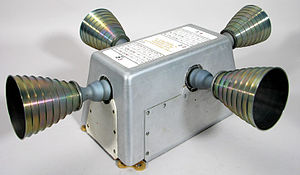 R-4D - An RCS quad containing four R-4D thrusters, as used on the Apollo Service Module