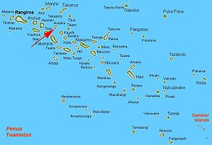 Aratika - Location of Aratika Atoll