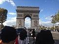 Arc de triomphe de l'Étoile, octobre 2017.jpg