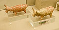Archaeological site of Akrotiri - Museum of prehistoric Thera - Santorini - neolithic pottery - bull rhyta - 05.jpg