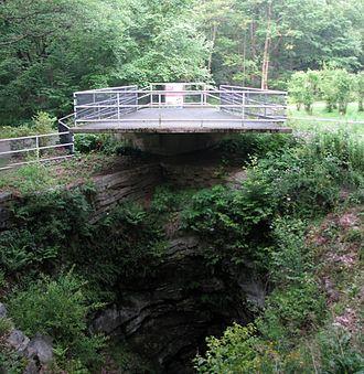 Archbald Pothole State Park - The pothole