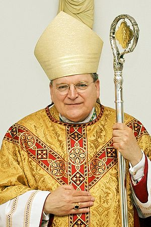Picture of Archbishop Raymond Leo Burke taken ...