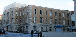 Archbold Gymnasium Building on Syracuse University campus in New York, U.S.