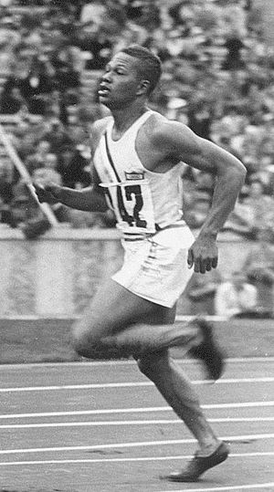 Archie Williams - Archie Williams at the 1936 Olympics