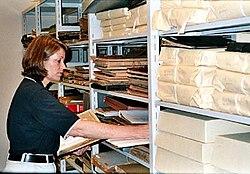 definition of archivist