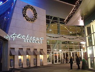 ArcLight Hollywood - The courtyard entrance of the Arclight Hollywood complex.