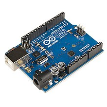 One of our Arduino microcontrollers