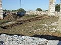 Arkeologisk utgrävning inne i Galgen 2008 Galgberget Visby.JPG