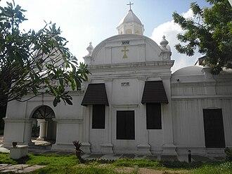 Armenian Apostolic Church - Armenian Church in Madras, India, constructed in 1712