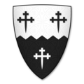 Armorial Bearings of the TRAUNTER family of Bunshill, Mansel Lacy, Herefordshire.png