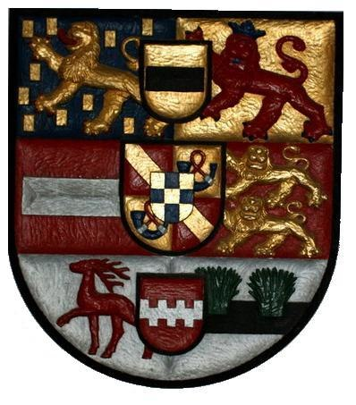 Arms of Johan Willem Friso as Prince of Orange