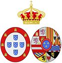 Arms of Mariana Victoria of Spain, Queen consort of Portugal.jpg