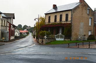 Arpheuilles-Saint-Priest - A street in Arpheuilles-Saint-Priest