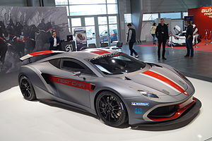 Arrinera Hussarya - Arrinera Hussarya test car at Motor Show Poznań 2015
