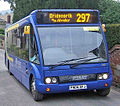Arriva Fox County bus 6007 (FN04 AFJ) 2004 Optare Solo M920, Shropshire Bus livery, 30 December 2008.jpg