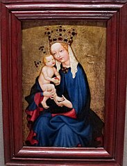 Madonna and Child Holding an Apple