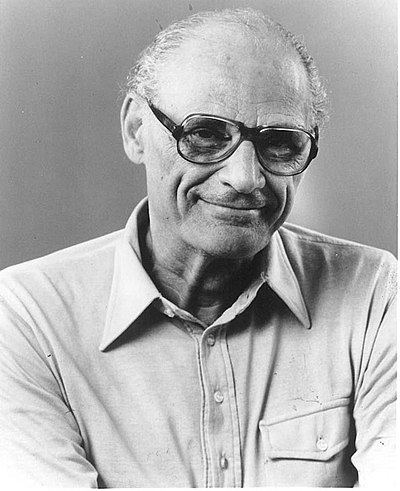 Picture of an author: Arthur Miller