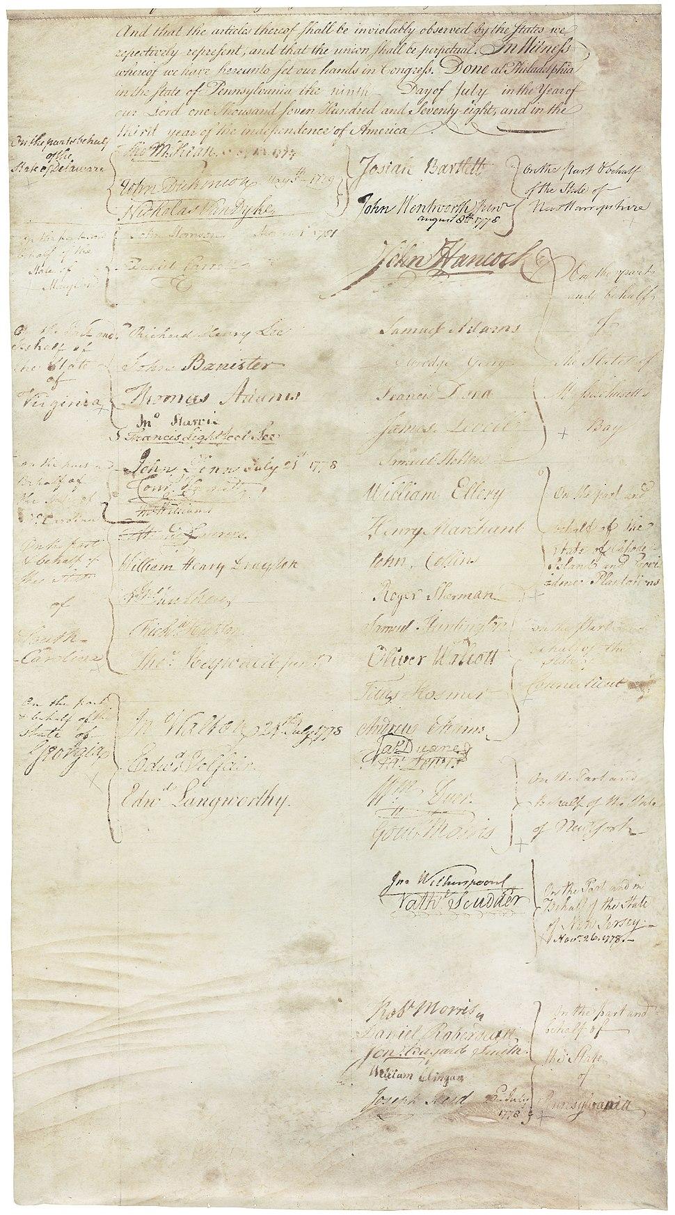 Articles of Confederation 13