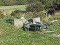 Artillery range equipment near path from Gad Cliff to Tyneham village - geograph.org.uk - 1628625.jpg