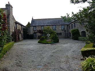 Arwenack - Arwenack House today, remnant of the former fortified manor house
