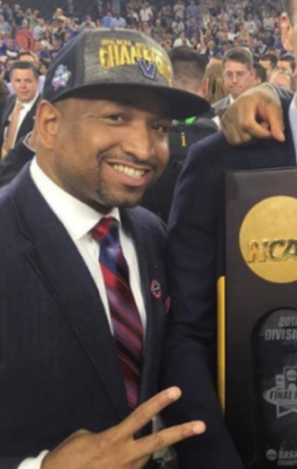 Ashley Howard (basketball) - Howard with the 2016 NCAA championship trophy