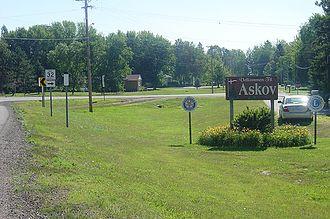 Askov, Minnesota - Askov, Minnesota; July 2007