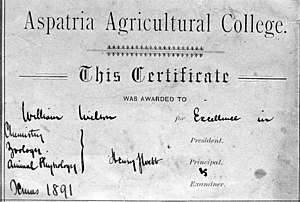 Agriculture college board subject test book