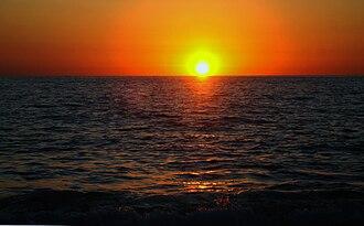 Yelapa - Sunset over Bahía de Banderas