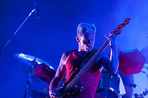 Atoms for Peace (band) - Flea with Atoms for Peace at Fuji Rock Festival 2010
