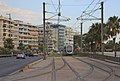 Attica 06-13 Paleo Faliro 05 tram at Leoforos Posidonos.jpg