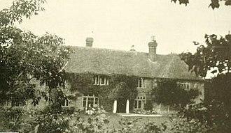David Atwater - David Atwater's ancestral home in Royton, Lenham, Kent, England.