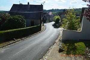 Aubigny-en-Laonnois - A street in Aubigny-en-Laonnois