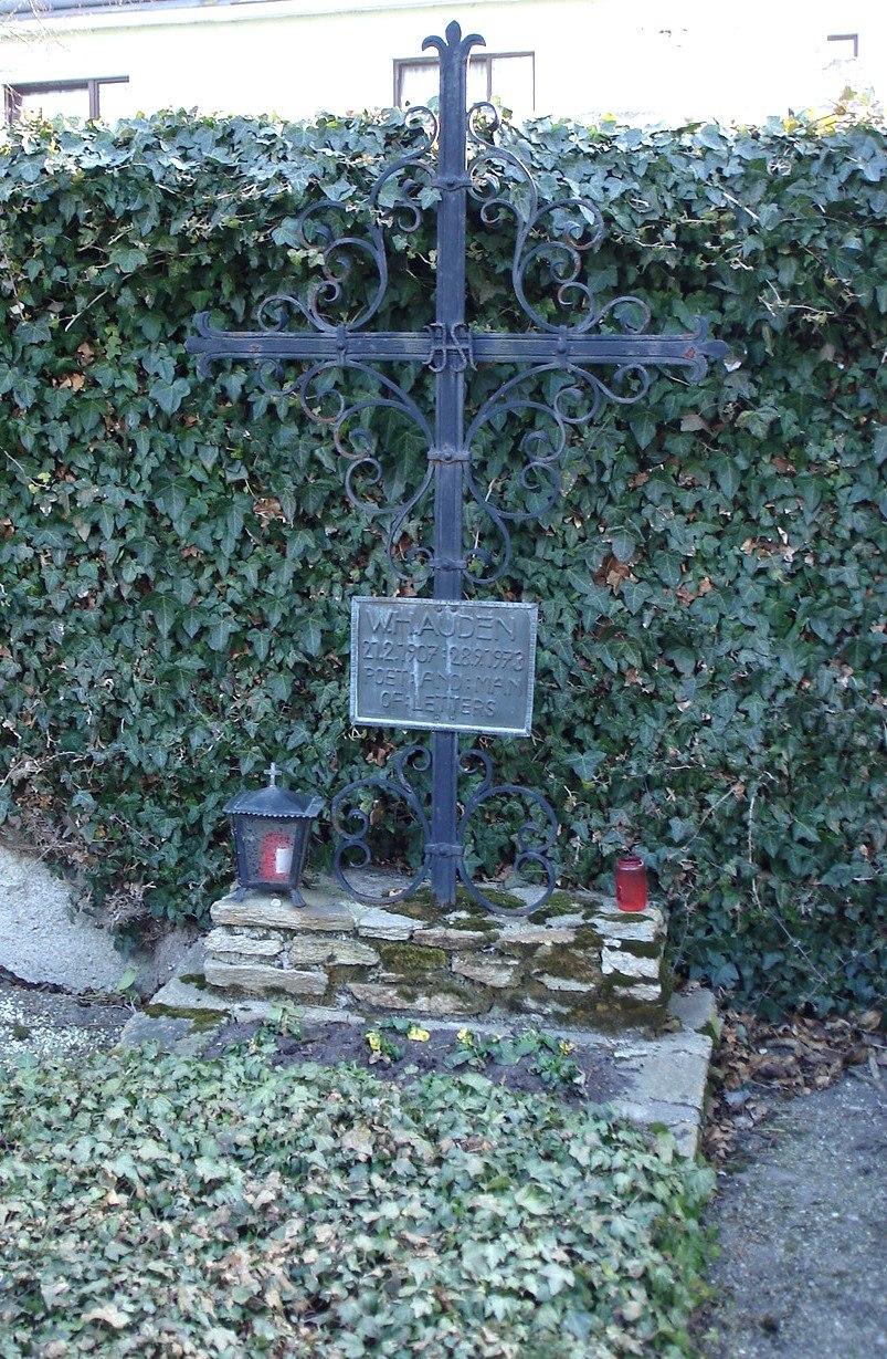 Auden's grave