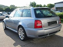 Audi A4 B5 Википедия