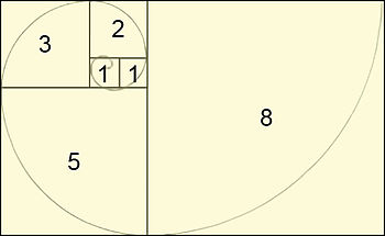 Italiano: Descrizione: Sezione Aurea Fibonacci...