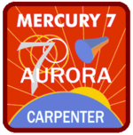 Missionsemblem Mercury-Atlas 7