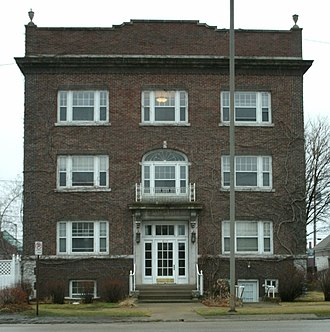 National Register of Historic Places listings in Linn County, Iowa - Image: Ausadie Building pic 1