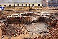Ausgrabung auf der Baustelle Schloßstraße (06) (26586413772).jpg