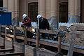 Ausgrabungen Slawischer Burgwall im Schweriner Schloss (DerHexer) 2014-11-15 02.jpg