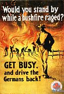 Australian WWI recruiting poster