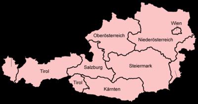 Österreichkarte