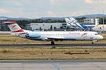 Austrian Airlines, OE-LVB, Fokker F100 (20360095331).jpg